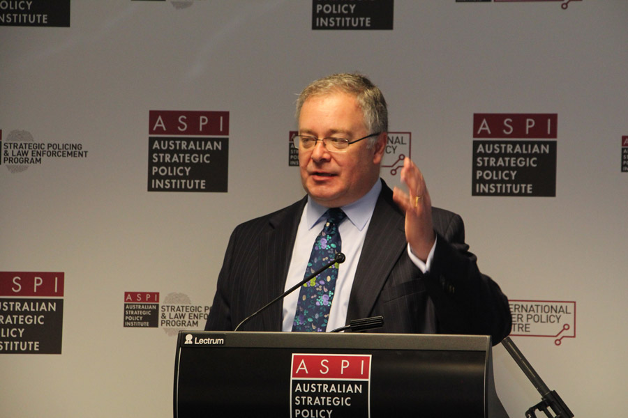Executive director of the Australian Strategic Policy Institute Peter Jennings